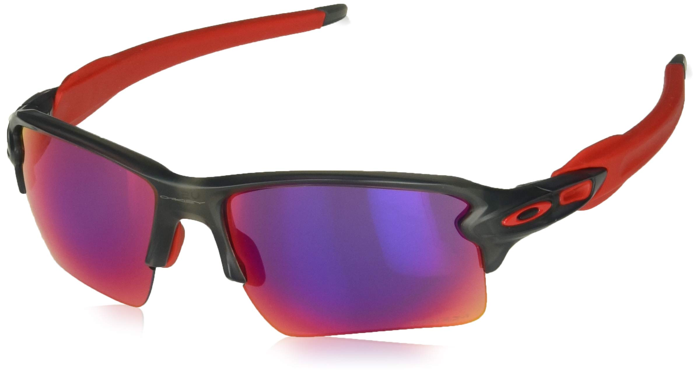 Oakley Men's Flak 2.0 XL OO9188-04 Rectangular Sunglasses, Matte Grey Smoke, 59 mm