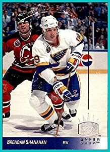 1993-94 Upper Deck SP Inserts #140 Brendan Shanahan ST. LOUIS BLUES