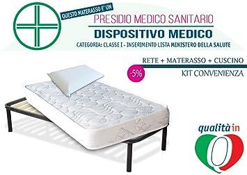 inmaterassi – Kit Dulce Sueño Light, colchón individual Memory Foam con bayscent Neutralizer, ortopédico