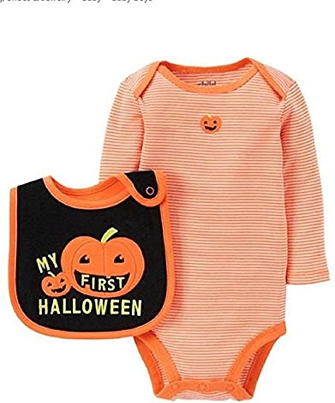 Marsherun Newborn Baby Girls and Boys Halloween Knight Long-Sleeve Bodysuits Playsuits