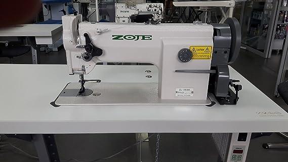Top de Oferta: La Industria Máquina de coser zoje - Transporte Triple - Piel: Amazon.es: Hogar