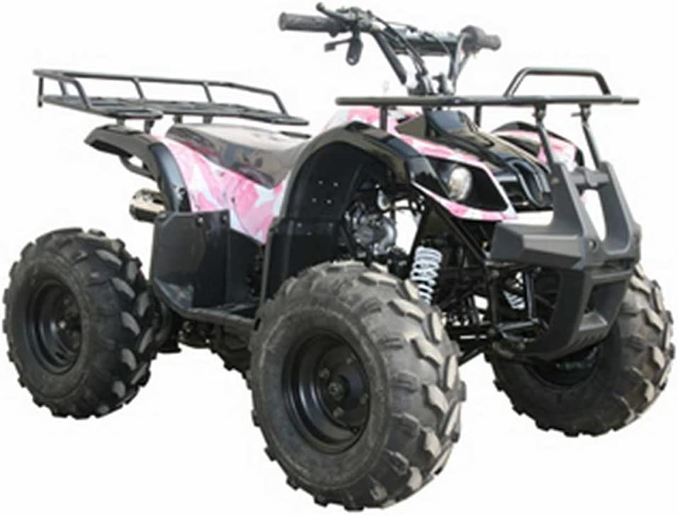 Pink Camo Coolster 8 Utility ATV
