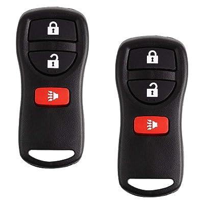 BESTHA Keyless Entry Remote Key Fob Replacement KBRASTU15 CWTWB1U415 CWTWB1U733 CWTWB1U822 for Nissan Armada Frontier Murano NV Pathfinder Quest Sentra Titan Versa Xterra: Automotive