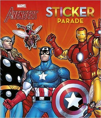 Téléchargement gratuit de livres Google The avengers sticker parade PDF iBook PDB 9044736205