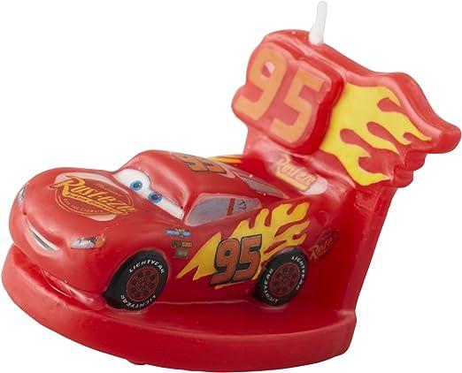 Wilton 2811 - 7110 Disney Pixar Cars 3 3 vela de cumpleaños ...