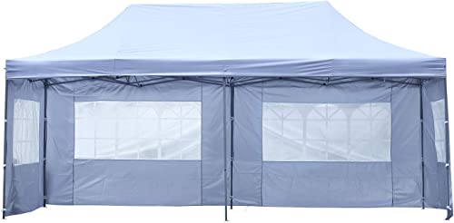 HYD-Parts Outdoor 10×20 Feet Pop up Canopy Tent Gazebo