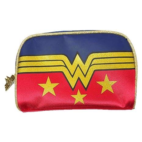 DC Comics - Bolsa de aseo de sintético Dorado rojo talla ...