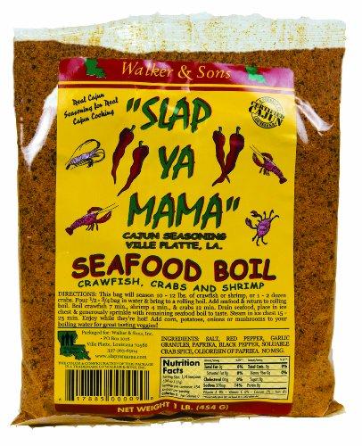 Slap Ya Mama Seafood Boil, 16-Ounce (Pack of 8)