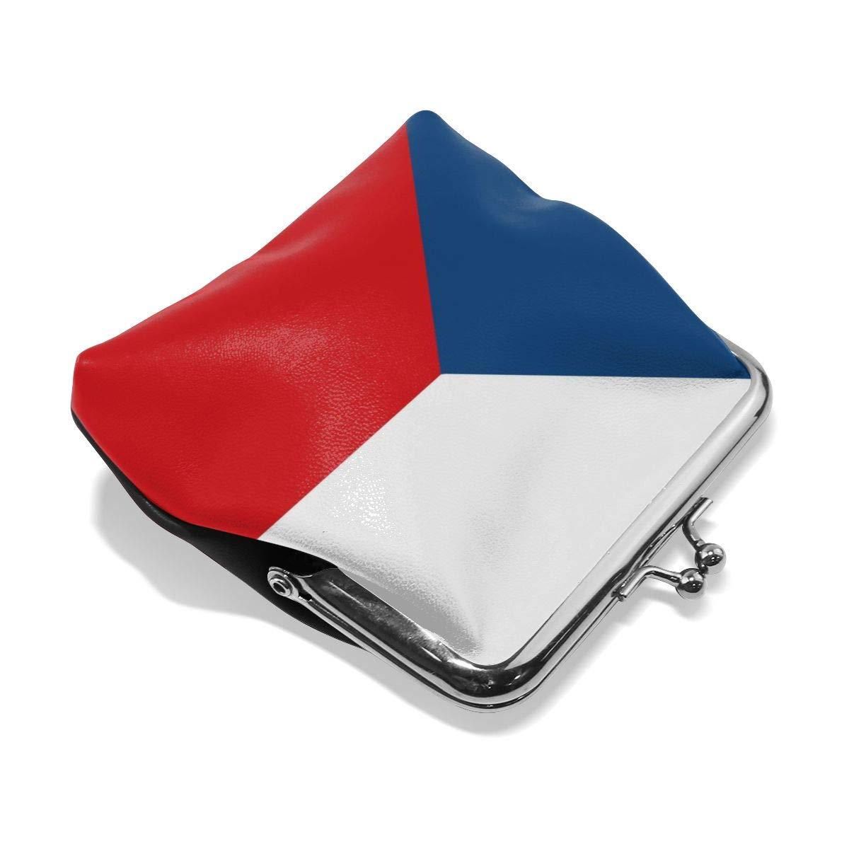 Czech Flag Cute Buckle Coin Purses Buckle Buckle Change Purse Wallets