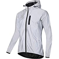 Bicycle Jackets for Men Waterproof Breathable Outdoor Windbreaker Running Cycling Coat,Mens Womens High Reflective…