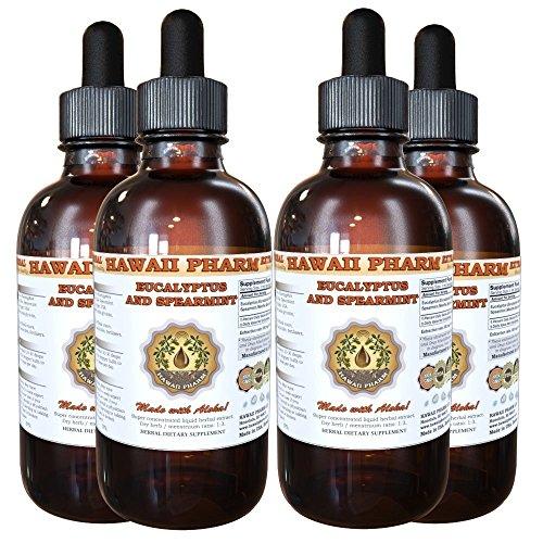 Hawaii Pharm Eucalyptus and Spearmint Liquid Extract, Org...