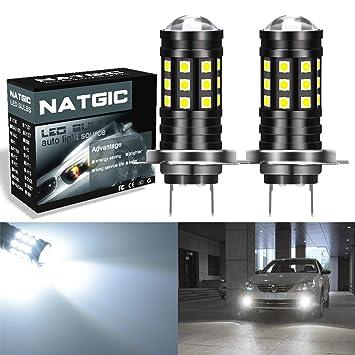 NGCAT Bombillas LED para faros antiniebla (2 unidades, 2700 lúmenes, 3030, 27SMD