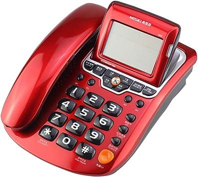 DRCO Teléfono, teléfono fijo cableado en el hogar, identificador ...