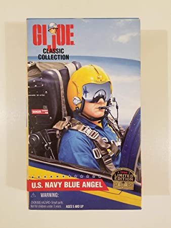 1//6 Scale-Gi Joe Action Figures GI JOE BLUE ANGELS-Side Cap