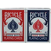 2pack/Set Original Bicycle Poker Red/Blue Bicycle Regular Playing cards Rider Back Version Sealed Decks Magic Playing…