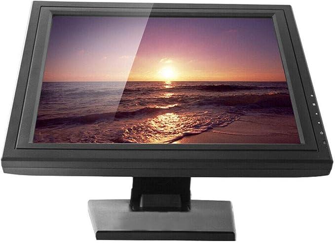 BTdahong 17 pulgadas 4:3 Standard LCD Touchscreen Monitor USB POS Kassenmonitor, 160° Horizontal 140° Vertical 1280x1024 Resolución, VGA: Amazon.es: Oficina y papelería