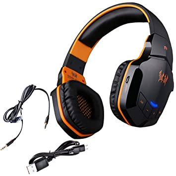Wireless Gaming Auriculares, Auriculares de juego inalámbricos, NIUTOP EACH B3505 Auricular Profesional Bluetooth Wireless