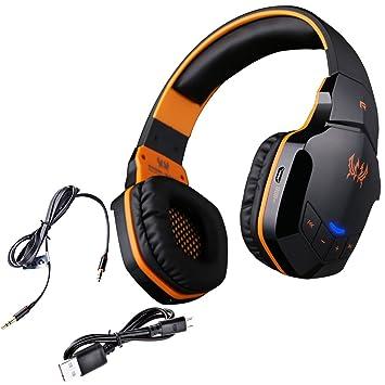 Wireless Gaming Auriculares, Auriculares de juego inalámbricos, NIUTOP EACH B3505 Auricular Profesional Bluetooth Wireless