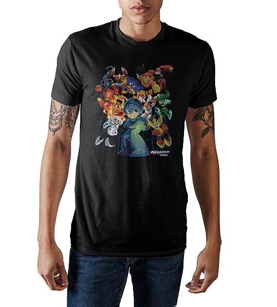 Mega Man 10 Capcom Video Game Adult T Shirt