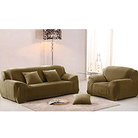 JYQ-SZRQ Funda de sofá, Cubierta de sofá Grueso 1/2/3/4 ...