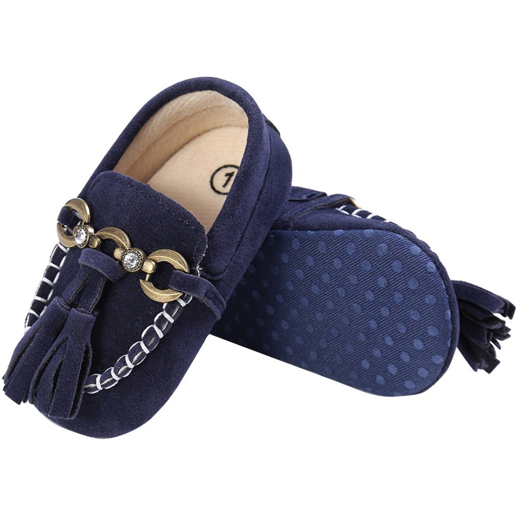 ZX101 Baby Toddler Shoes Baby Boys Girls Casual Tassel Prewalker Anti-Slip Soft Sole Shoes