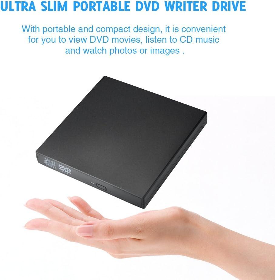 TOPELEK UD28B - Grabadora y Lector de CD/DVD para Windows y Mac OS ...