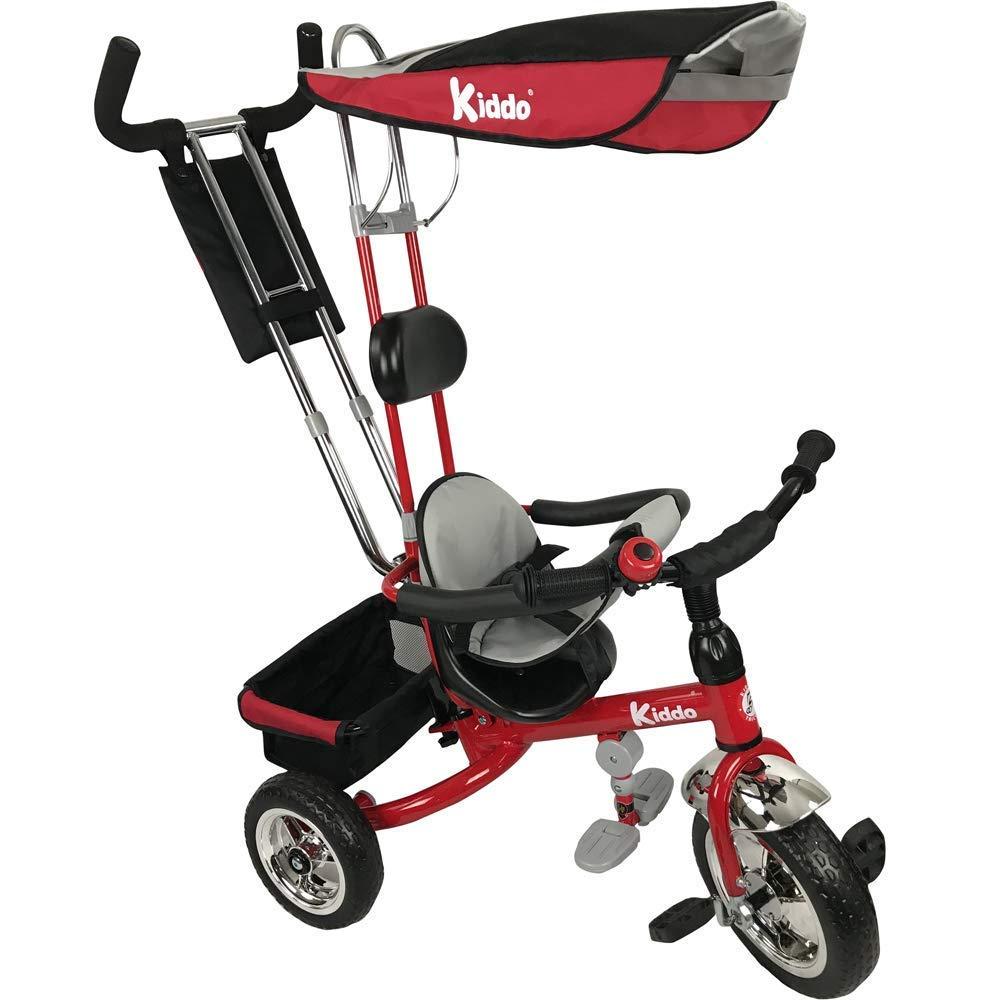 Mejor precio Kiddo nuevo diseño diseño diseño inteligente Triciclo Niños 4-en-1. Triciclo niños. Bici de 3 ruedas. Triciclo Padres - Niño. Nuevo - Rojo  Centro comercial profesional integrado en línea.