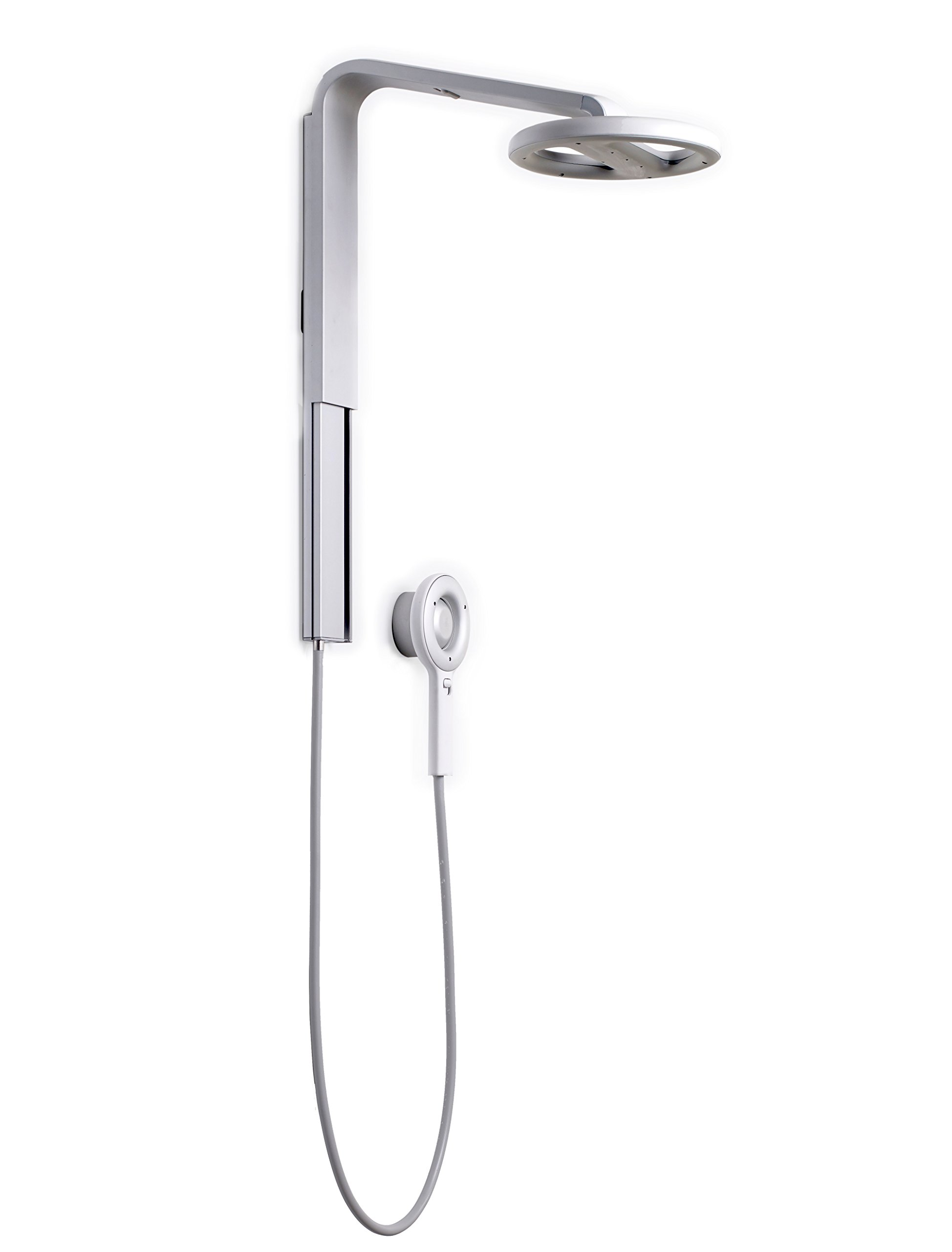 Nebia Spa Shower: Luxury Water Innovation. Sustainable Atomizing Shower System with 10'' Head, Handheld Wand, Adjustable Height. Award Winning Design, Aluminum, Easy DIY Install. Made in USA. by Nebia