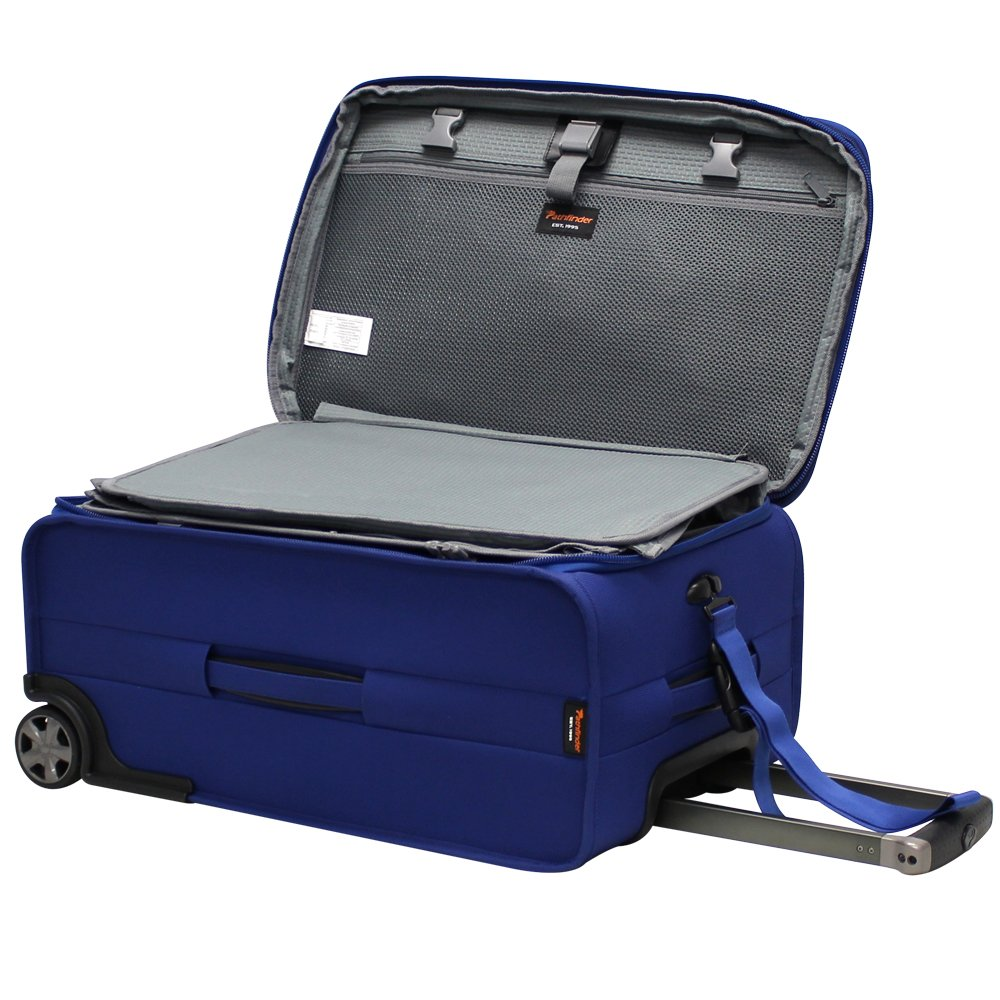 Pathfinder Revolution Plus 22 Inch Expandable Business Carry- On with Suiter, Cobalt Blue, One Size by Pathfinder (Image #4)
