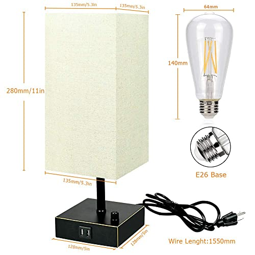 LEGELITE Dimmable Table Lamp