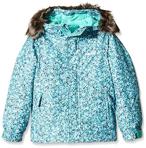 O Neill Girl s Radiant - Cazadora de Nieve para Mujer, Chaqueta, niña, Color Blue AOP/Black, tamaño 116 cm: Amazon.es: Deportes y aire libre
