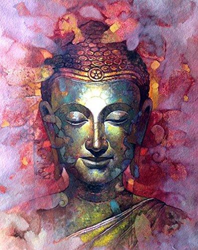 Crow's Soul 5D DIY diamond paintings diamond cross -embroidered diamond Buddha Buddha religion