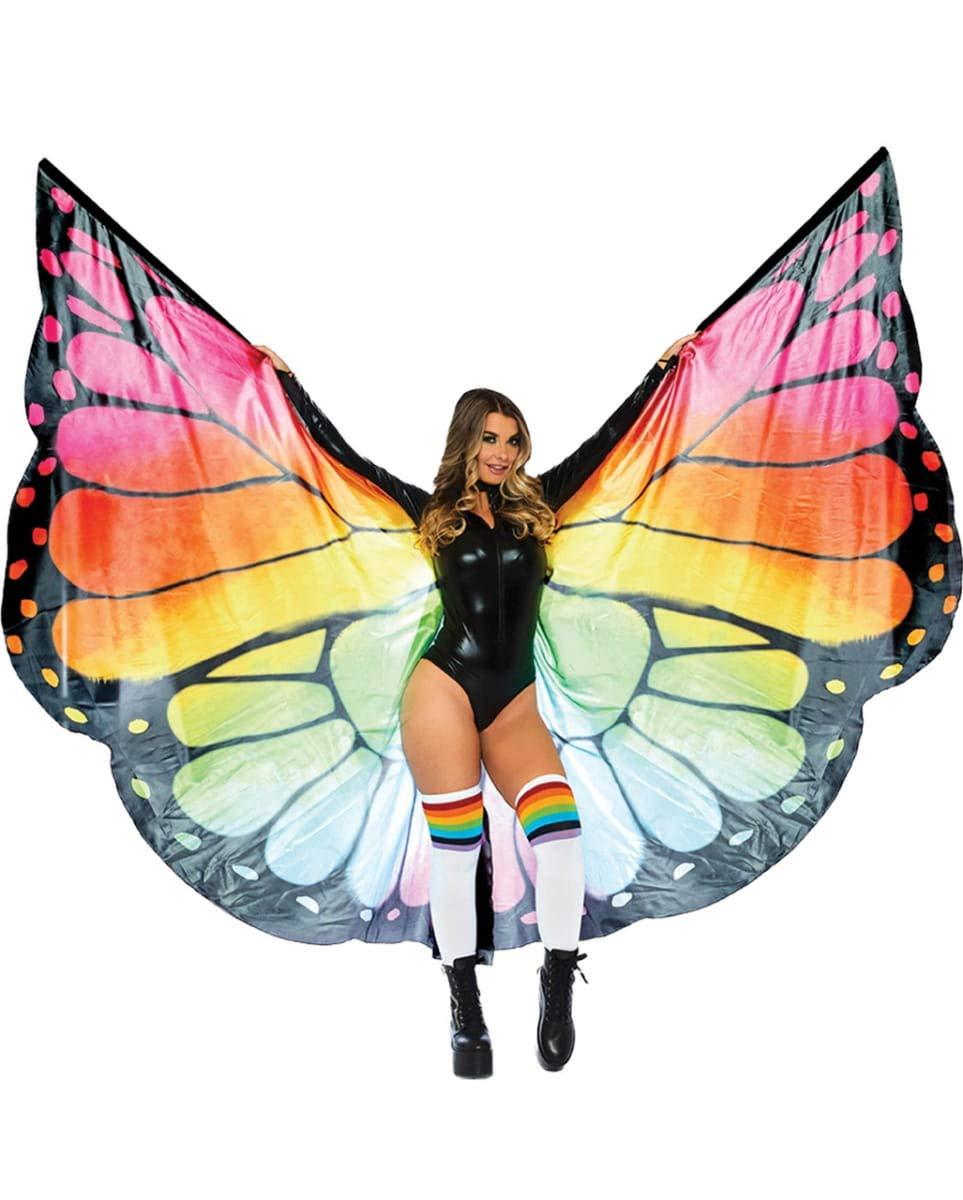 HorrorShop Butterfly Wings XXXL Multicolor