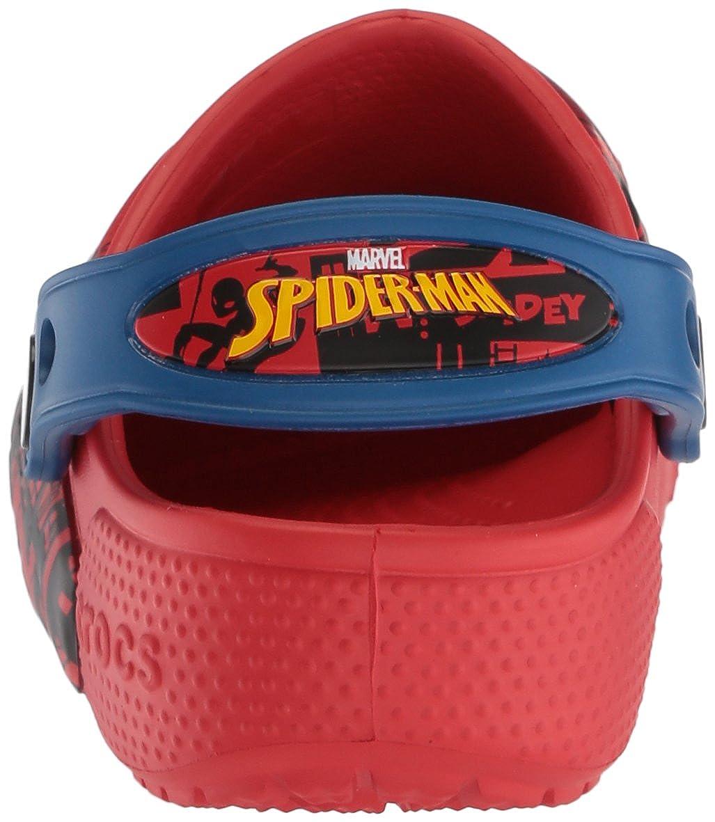 Crocs Boys/' Fun Lab Spider-Man Lights Clog Kids