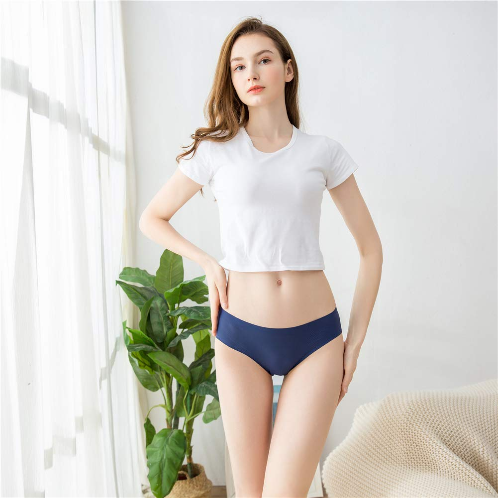 Womens Underwear Hipster Panties No Show Panty Low-Rise (Pack of 5, X-Large)