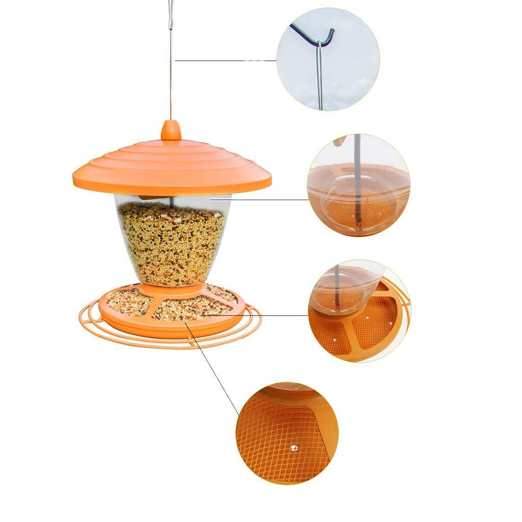 Nosterappou Field-free European Garden Bird Feeder Addition to any bird feeder in the garden