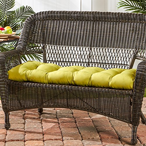 Greendale Home Fashions Indoor Outdoor Swing Bench Cushion