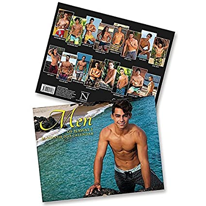 Hawaii Calendar 2020 Amazon.: Men of Hawaii, 2019 16 Month Trade Calendar, November