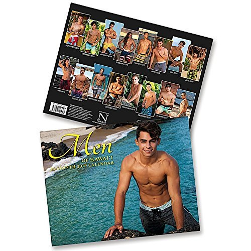 Hawaii School Calendar 2019-16 Amazon.: Men of Hawaii, 2019 16 Month Trade Calendar, November