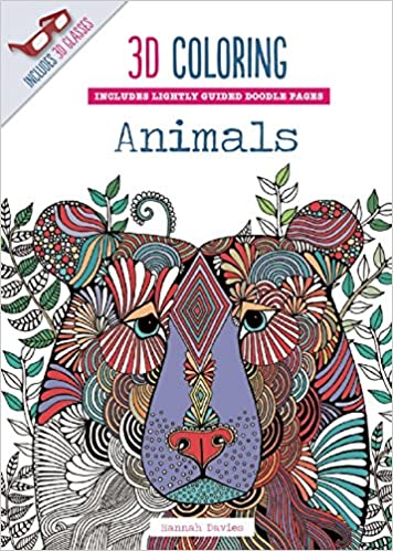 amazoncom 3d coloring animals 9781626864580 emma segal books