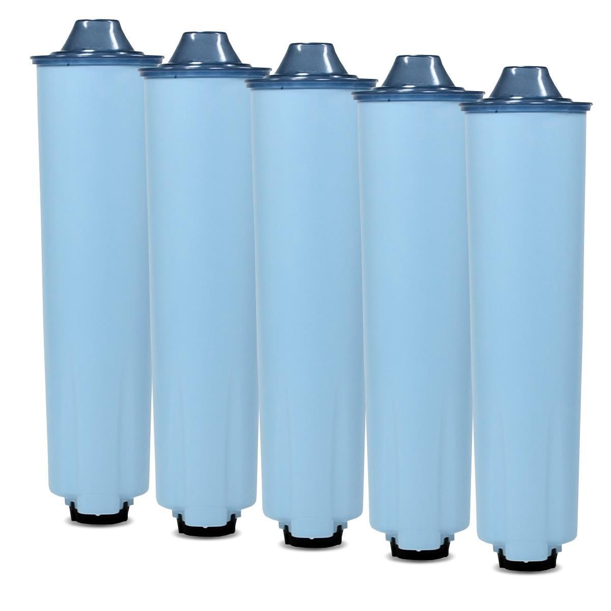 5 steckbare blaue Kartuschen passend für Jura® Kaffeemaschinen mit ENA Claris blue Patrone Scanpart