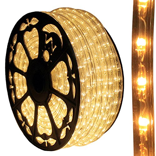 120V Dimmable LED Type 513 Warm White Rope Light Kit - 513PRO Series (Standard Kit, Warm White) by AQL (Image #1)