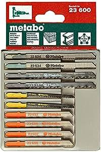 Metabo 6.23600.00 - Juego de hojas para sierra de calar (10 piezas)
