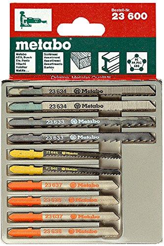Metabo 6.23600.00 - Juego de hojas para sierra de calar (10 piezas) 623600000