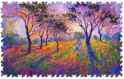 Artifact Puzzles - Erin Hanson Crystal Grove Wooden Jigsaw Puzzle -