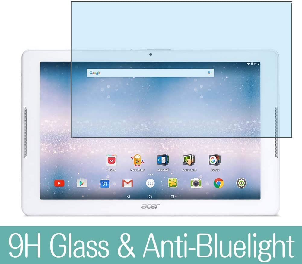 Synvy Anti Blue Light Tempered Glass Screen Protector for Acer Iconia One 10 B3-A30 11.6