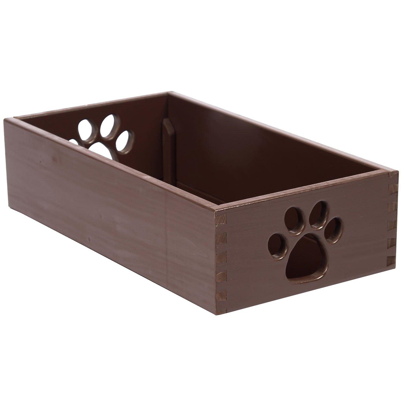 Amazon.com Dynamic Accents 42133 Small Pet Toy Box - Mahogany Kitchen u0026 Dining  sc 1 st  Amazon.com & Amazon.com: Dynamic Accents 42133 Small Pet Toy Box - Mahogany ... Aboutintivar.Com