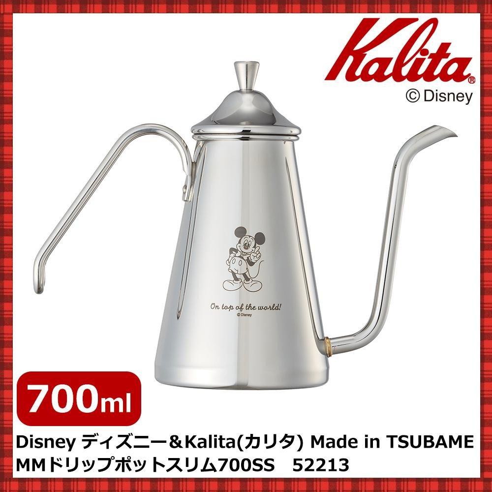 Disney ディズニー&Kalita(カリタ) Made in TSUBAME MMドリップポットスリム 700SS 52213   B079RZHGGK