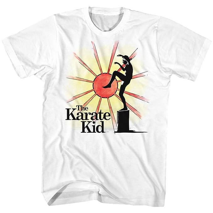 Amazon.com: The Karate Kid Tall T-Shirt Ninja Sun Background ...