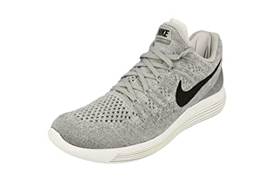 finest selection cdb69 49f1f Nike Mens LunarEpic Low Flyknit 2 Running Shoes Wolf Grey/Cool Grey/Black  863779-002 Size 9
